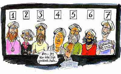 Danish Cartoon