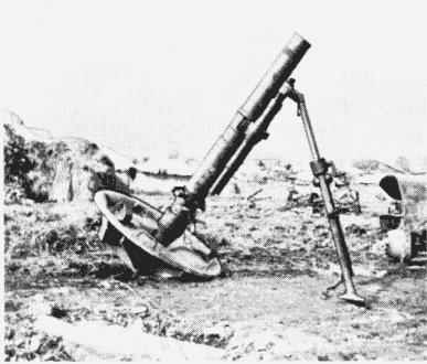 Captured 120mm Chinese Mortar