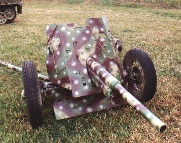 45mm Anti Tank NK artillery