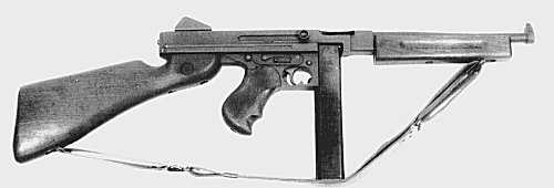 M1A1 Thompson Submachine Gun with 30 Round Magazine
