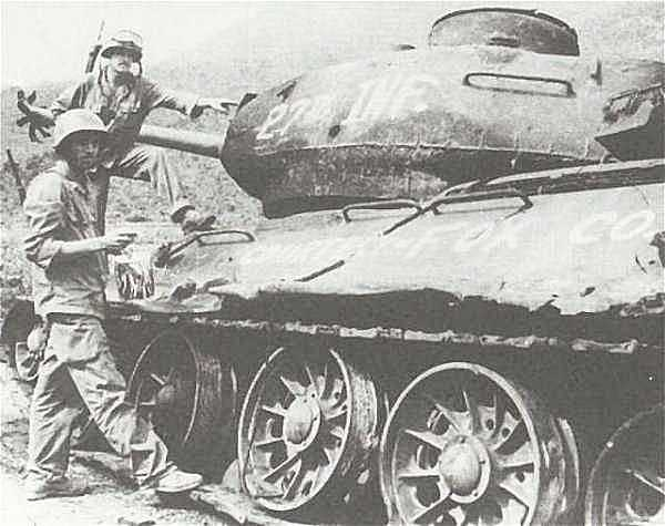 T34 destroyed by 27th Infantry