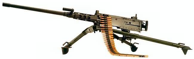 m2 heavy barrel 50 caliber air cooled heavy machine gun