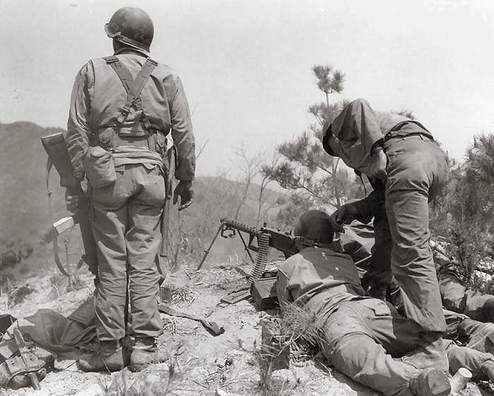 Korean War M2 and M3 Carbines