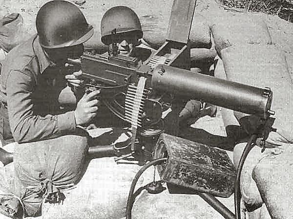 Image result for liquid cooled machine gun