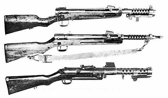 Japanese WWII Submachine Guns