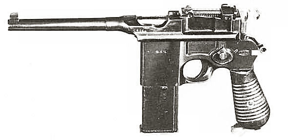 mauser c96 9mm parabellum 1915