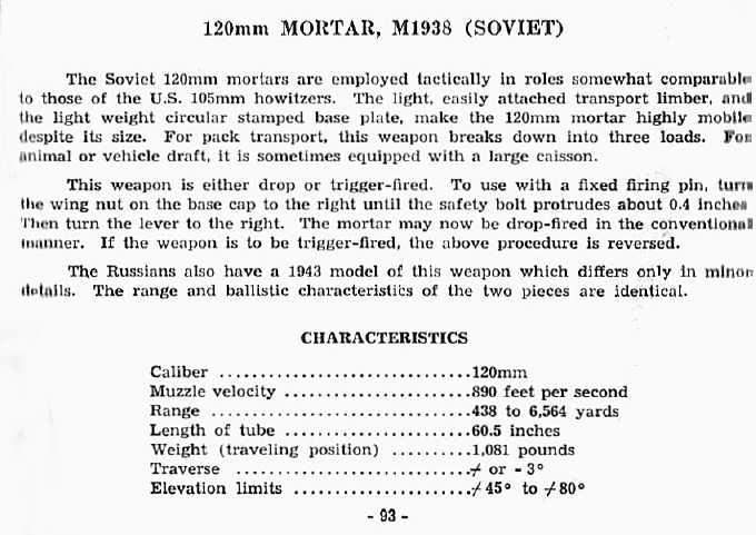 120mm Mortar
